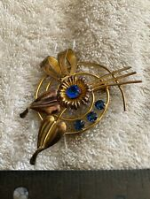 Vintage Gold Filled Flower Pin