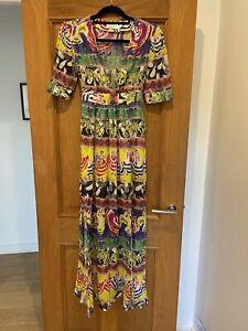 Gorgeous Women's & Other Stories Bright Print Maxi Dress Size 36 UK 10