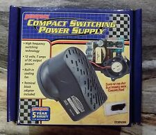 Duratrax Compact Switching Power Supply w/ Cooling Fan 12v 7 Amp Dc DTXP4300 NIB