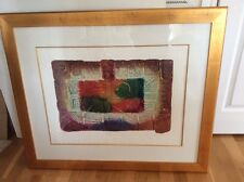 David Dodsworth Quadra I Framed Carborundum Etching
