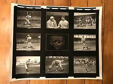1993 CONLON COLLECTION MASTERS SERIES UNCUT SHEET 26 X 32 INCHES