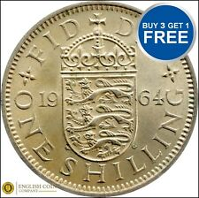 English Shillings !!!ANY YEAR!!! Elizabeth 2nd 1953 to 1966 !!! FREE POST!!!