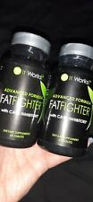 Two It Works Advanced Formula Fat Fighter w Carb Inhibitors 120 Tablets mfg 6/20