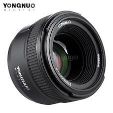 YONGNUO 50mm F1.8 Large Aperture Prime Lens Auto Focus FX DX for Nikon DSLR Z1w9