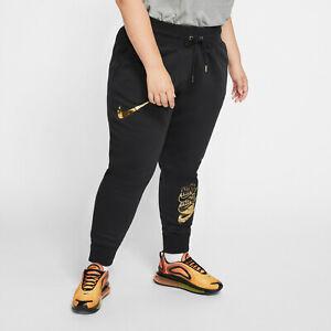 Nike Damen NSW Plus Size Trainings Jogginghose CK8612-010 Sport Laufen Neu 2X