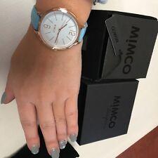 ⌚️⌚️⌚️⌚️Mimco New 💞 Ilsa Cornflower Blue Rose Gold TimePeace Watch + Box
