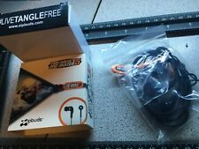 Tony Hawk Pro Skater ZIPBUDS earbuds zip ear bud Tangle Free Rare iPhone 📱