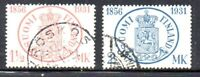 Finland Sc 182-3 1931 75th Stamp Anniversary stamp set used Free Shipping