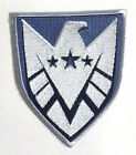 "Avengers/Agents of SHIELD TV Silver 3.5"" New Logo Patch- FREE S&H (ASPA-014)"