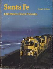 SANTA FE 1988 Motive Power Pictorial - (Long Out of Print, NEW BOOK)