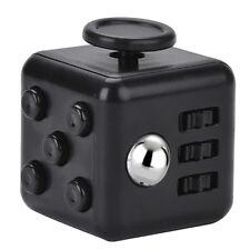 Black Fidget Cube Ball Protective Case Stress Relief Gadget Sensory Calming Toy