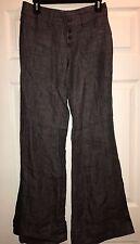 CAbi gray 100% Linen wide leg Sailor Pants Size: 2 Style: 371