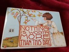 9x6 Mary Engelbreit Nothing Is More Important Than This Day price in red 00004000  ink on
