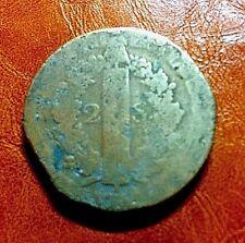 2 sols FRANCAIS constitution LOUIS XVI loi roi 32 mm Dupré Révolution