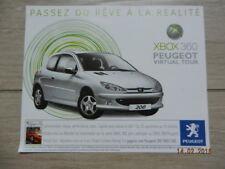 Catalogue PEUGEOT 206 XBOX 360