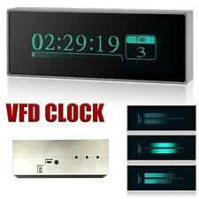 Aluminum Vfd Clock Audio Vu Meter Music Spectrum Db Indicator Level Display