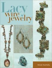 Beading Pattern Book LACY WIRE JEWERLY ~ Filigree, Bezels, Necklaces, Earrings +