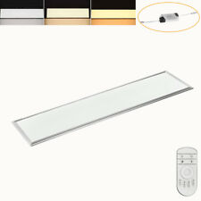 Dimmbar Ultraslim LED Panel 120x30cm Deckenleuchte Wandleuchte Lampe 42W