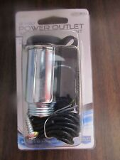New Custom Accessories #10241 Auxiliary Power Outlet With Ceramic Element