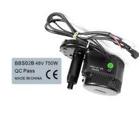 48V 750W Mid Drive Motor 2x Stickers Waterproof Bafang BBS02B Legal For Ebike