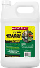 Systemic Tree and Shrub Insect Drench Controls Aphids Beetles Pest Outdoor 1 Gal