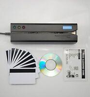 MSR605X Magnetic Stripe Encoder Credit Card Reader Writer Swipe MSR 206 605 606