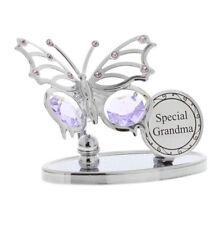 Special Grandma Swarovski Elements Butterfly Design  Grandma Gift SP504
