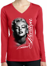 Maglie e camicie da donna in poliestere rosso taglia M