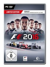 F1 2016 Limited Edition (formel Eins) PC OVP
