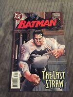 Batman #630 The Last Straw 1st Print [DC COMICS, 2003]
