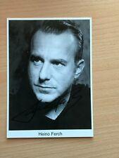 Autogrammkarte - HEINO FERCH - SCHAUSPIELER - orig. signiert #452