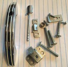 Drawer Pulls Nos Vtg Mid Century Stanley Chrome Red Plastic Cabinet Catch Pull #4224 Newport Hardware