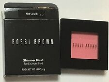 Bobbi Brown Shimmer Blush Pink Coral 8 Full Size 0.14 Oz New In Box