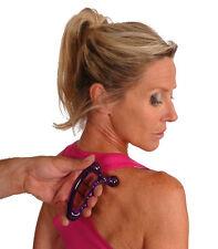 Original indexknobber Masaje herramienta Trigger Point dolor Reflexología posterior Cuerpo ayuda