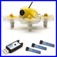 BLADE INDUCTRIX FPV BNF NANO DRONE QUADCOPTER SAFE W/ 3X 200MAH BATTERY BLH8580
