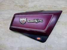1984 Honda Gl1200 Goldwing H1417. right side cover with emblems badges