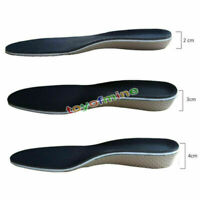 Arch Support Shoe Insoles Pads Heel insert Increase Taller Height Lift 2-4CM