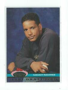 1992 Stadium Club Dome #146 Manny Ramirez RC Rookie Indians Red Sox Dodgers