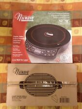 NuWave Precision Induction Cooktop Model # 30121 with cast iron grille New