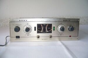Vintage Sony SRA-3 Tube Recording Amplifier As Found