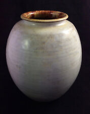 Mid Century Mobach Utrecht Holland Hand Formed Art Pottery vase