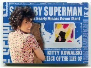2006 Superman Returns Saved by Superman Memorabilia 3 Kitty's Flower Dress Relic