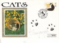 Elaine Paige *Cats* Hand Signed Autographed  First Day Cover