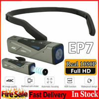 EP7 Head Digital Video Camera 4K 60FPS HD WiFi Camcorder With Remote Controller