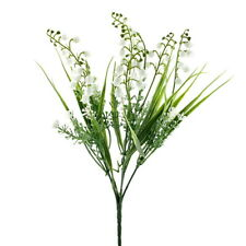 Maiglöckchen - Busch, 5fach/ 30cm, künstlich, Kunststoff, Deko-Blumen