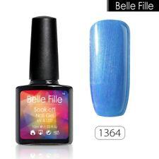 BELLE FILLE Gel Nails Art Soak Off UV LED Nail Polish Manicure Color Gel Lacquer