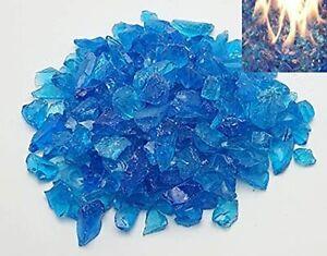 Firebrand Direct Blue Fire Glass 1kg (2.2lb) - Pits Gas Fires Burners