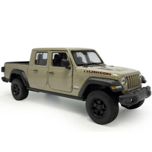 1/27 2020 Jeep Gladiator Pickup Truck Model Car Diecast Vehicle Toy Gift Brown