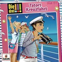 DIE DREI !!! - 057/TATORT KREUZFAHRT   CD NEU