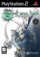 Shin Megami Tensei - Digital Devil Saga For PAL PS2 (New & Sealed)